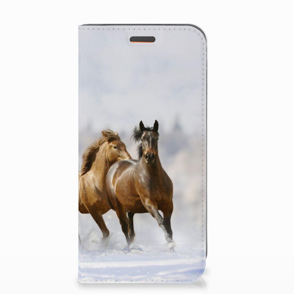 Motorola Moto E5 Play Hoesje maken Paarden