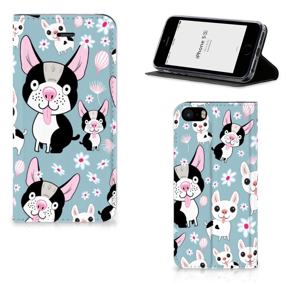 iPhone SE 5S 5 Hoesje maken Hondjes