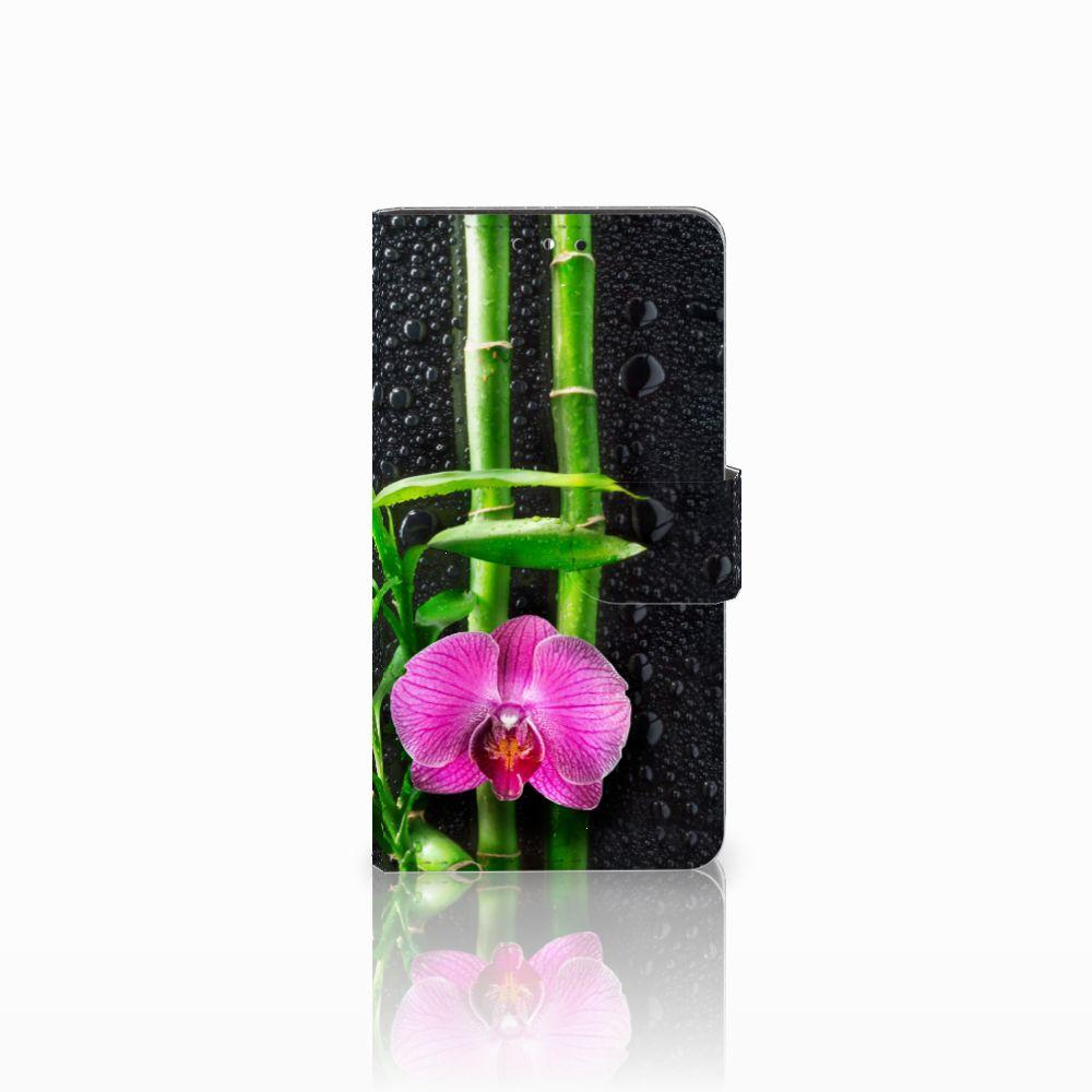 Huawei Y5 | Y6 2017 Boekhoesje Design Orchidee