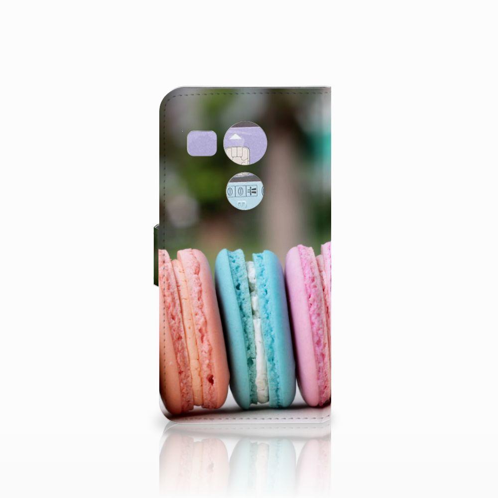 LG Nexus 5X Book Cover Macarons