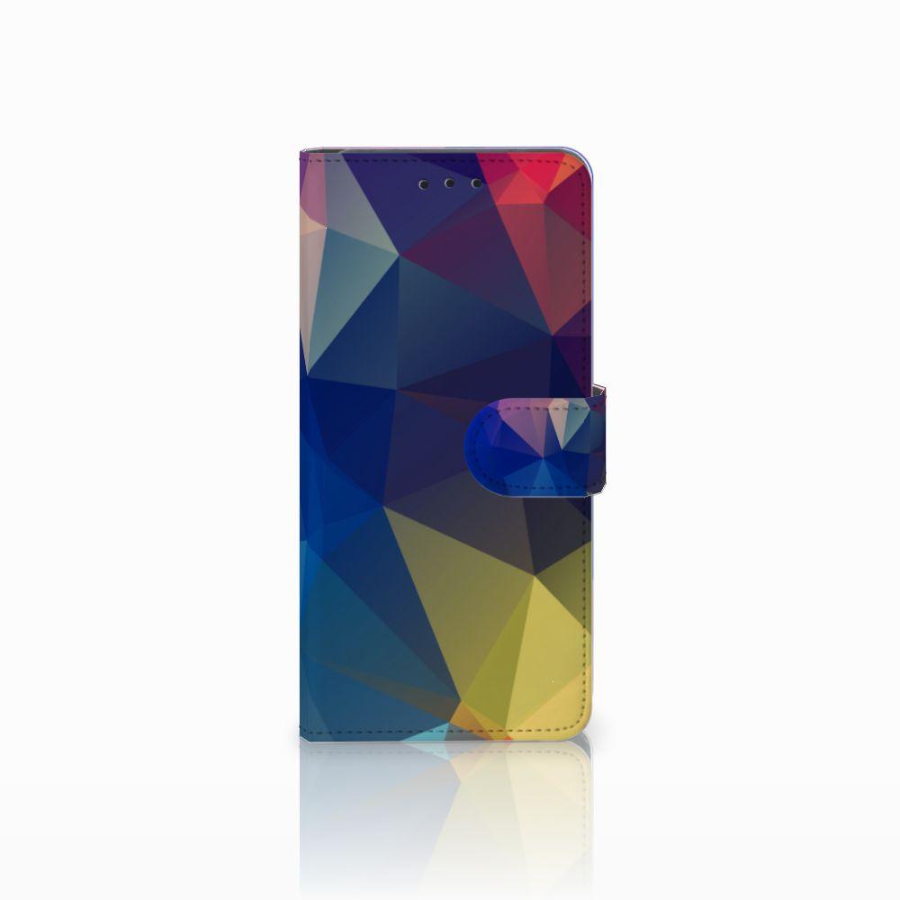 Huawei Mate 20 Pro Bookcase Polygon Dark