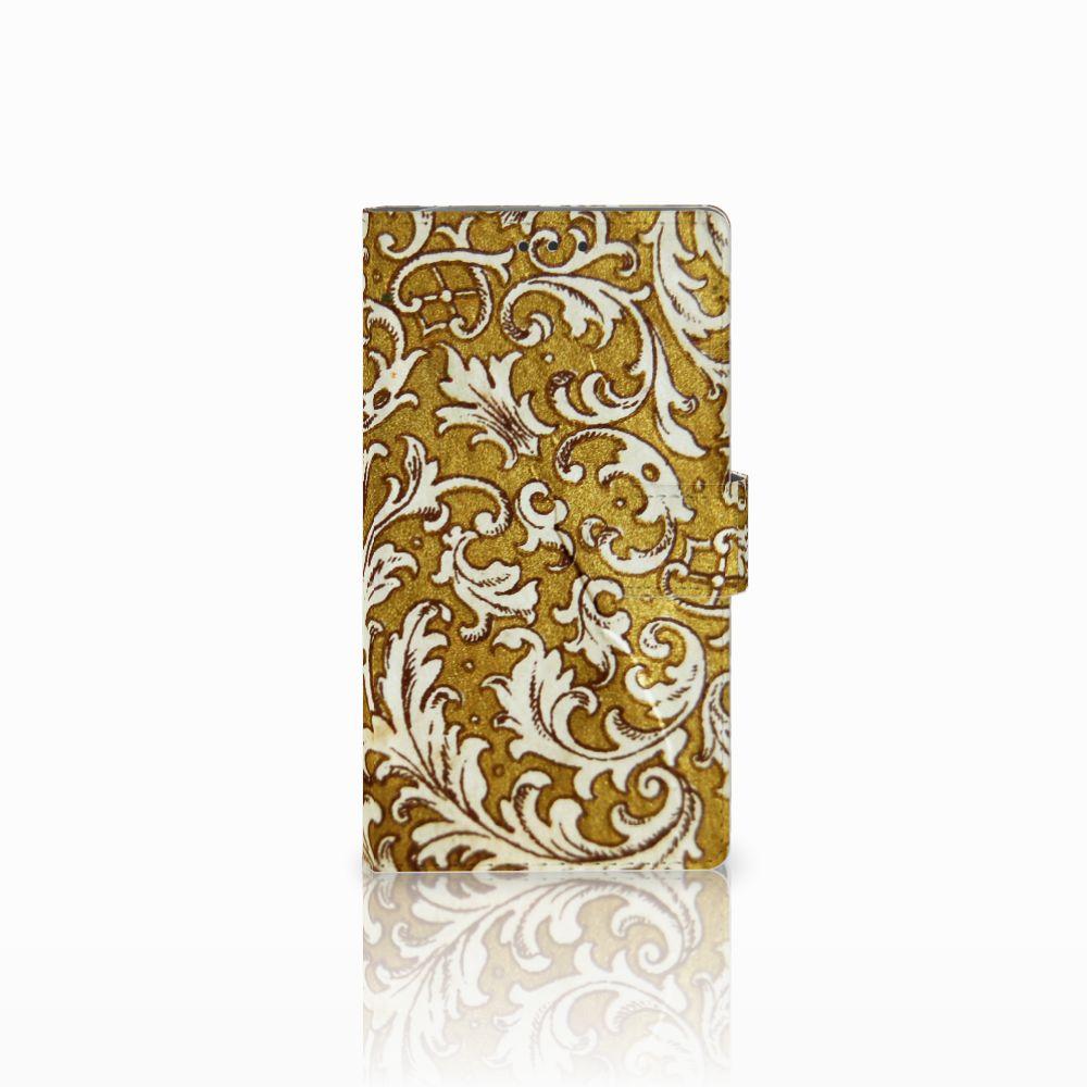 Samsung Galaxy Note 3 Boekhoesje Design Barok Goud
