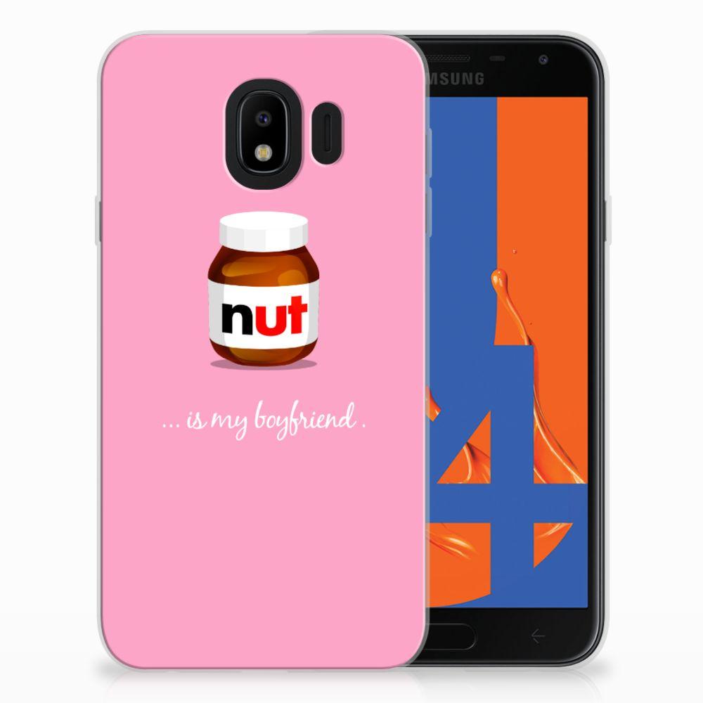 Samsung Galaxy J4 2018 Siliconen Case Nut Boyfriend