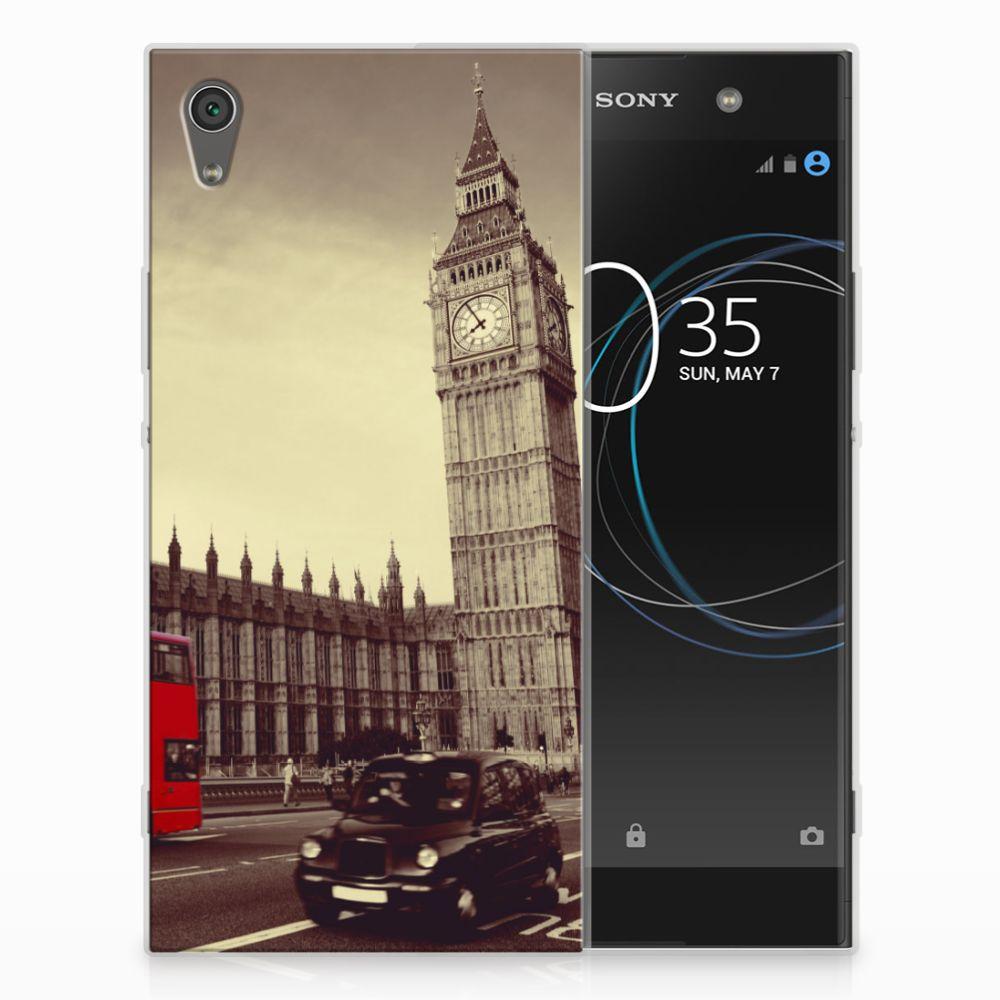 Sony Xperia XA1 Ultra Siliconen Back Cover Londen