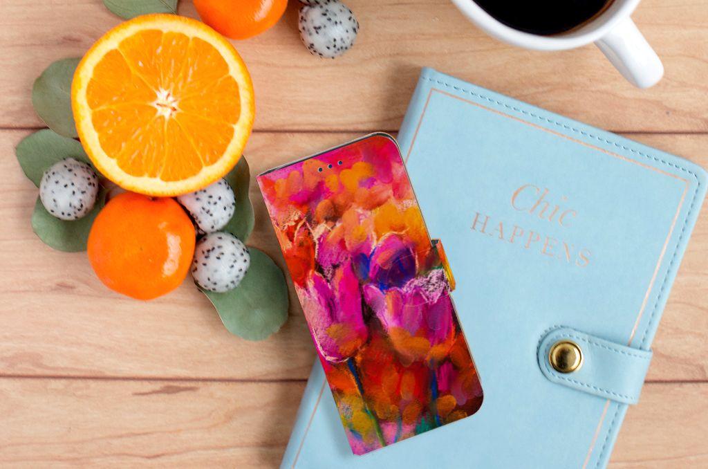 Samsung Galaxy S8 Boekhoesje Design Tulips