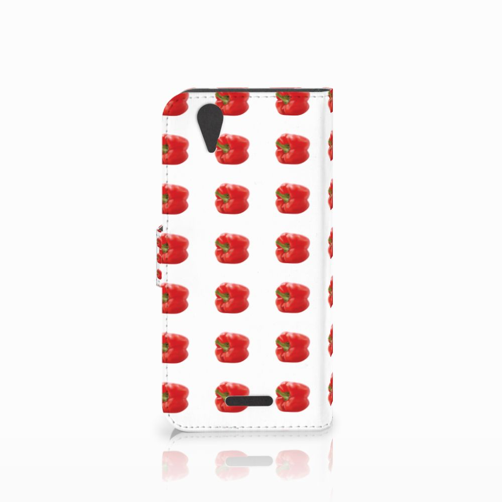 Acer Liquid Z630 | Z630s Book Cover Paprika Red