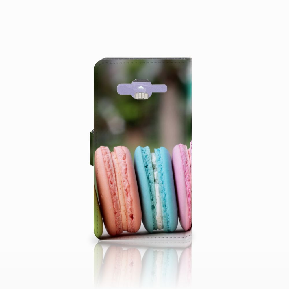 Samsung Galaxy J5 (2015) Book Cover Macarons