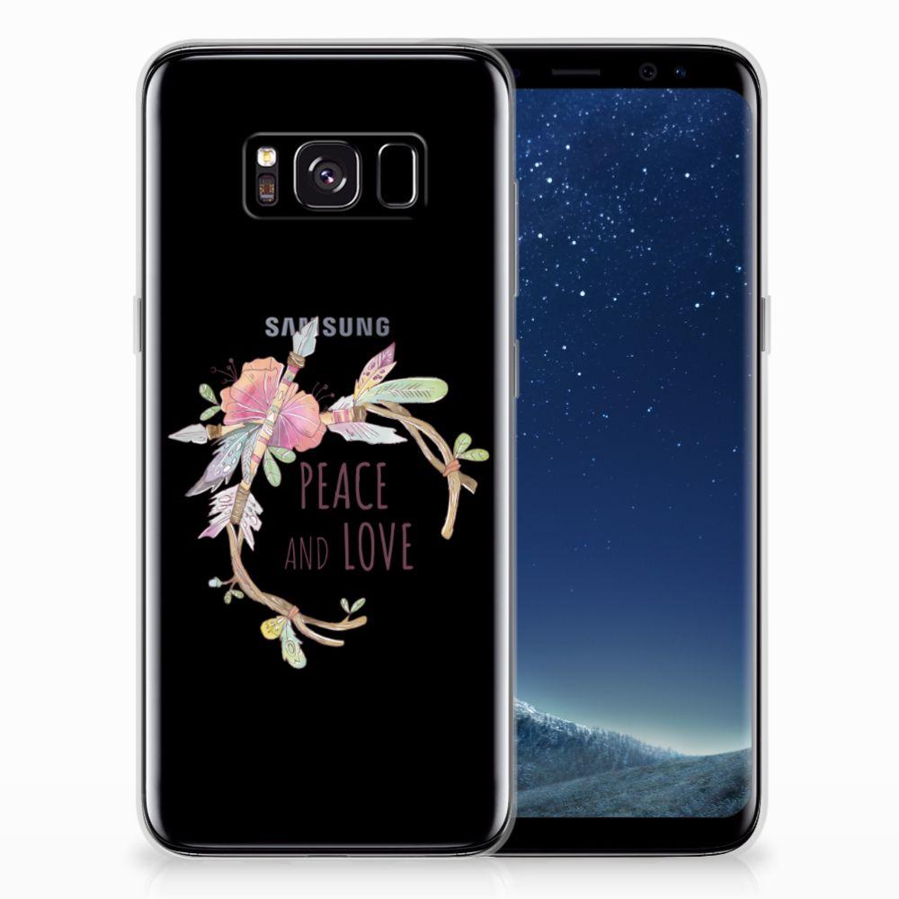 Samsung Galaxy S8 Telefoonhoesje met Naam Boho Text