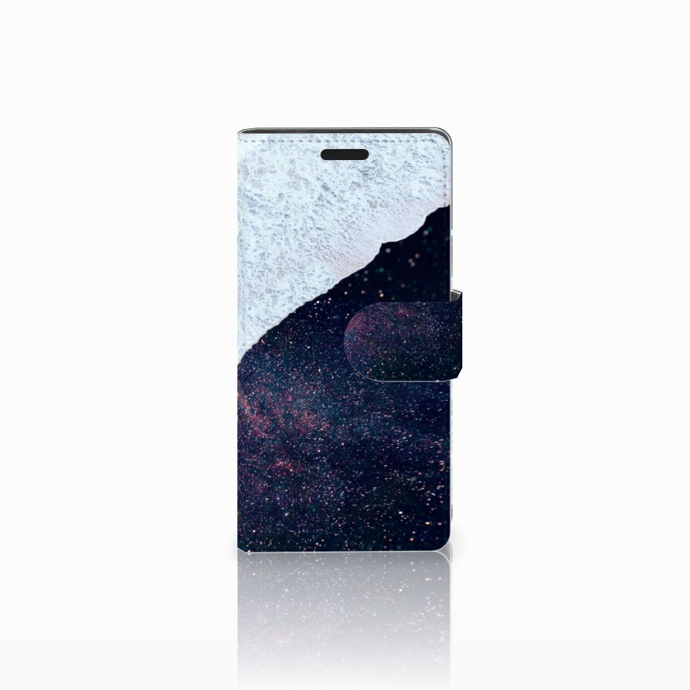 LG Leon 4G Boekhoesje Design Sea in Space