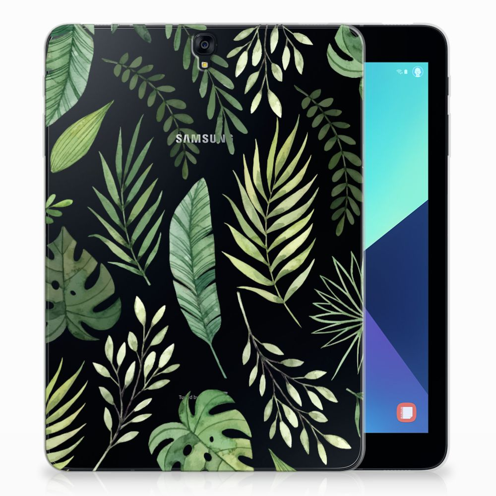 Samsung Galaxy Tab S3 9.7 Siliconen Hoesje Leaves