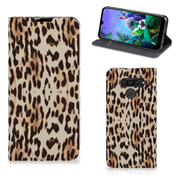 LG Q60 Hoesje maken Leopard
