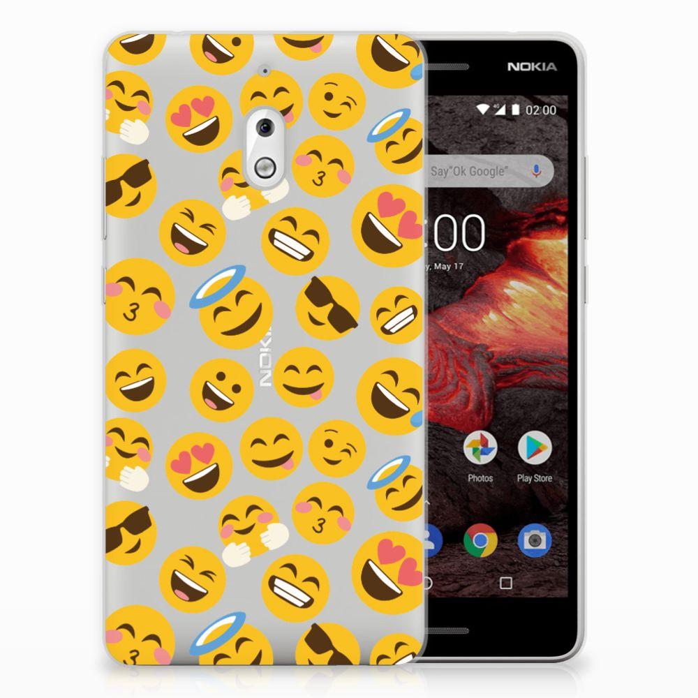 Nokia 2.1 (2018) TPU bumper Emoji