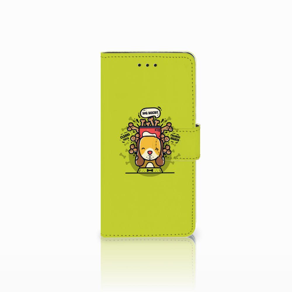 Huawei Y5 2018 Boekhoesje Design Doggy Biscuit
