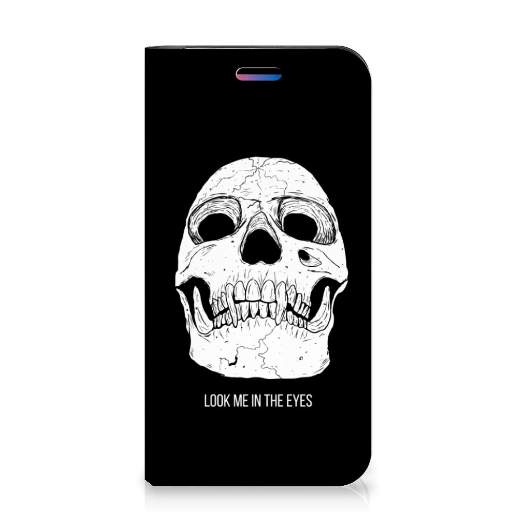 Mobiel BookCase Apple iPhone X | Xs Skull Eyes