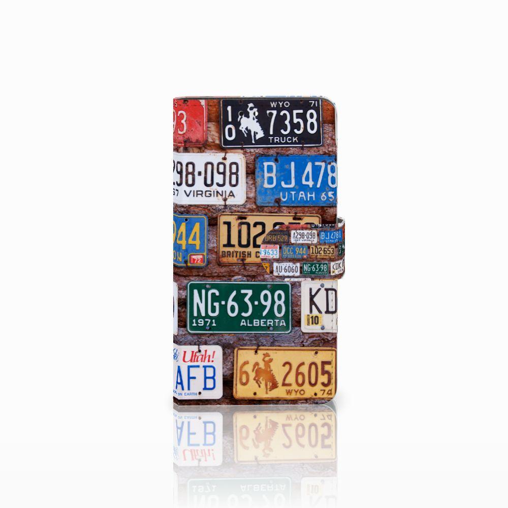 Huawei Y5 | Y6 2017 Uniek Boekhoesje Kentekenplaten