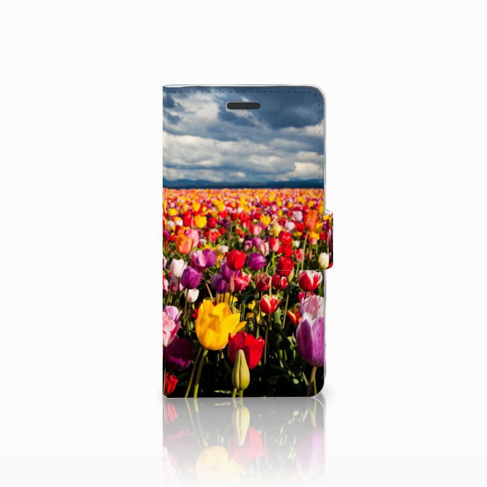 Samsung Galaxy Note 5 Uniek Boekhoesje Tulpen