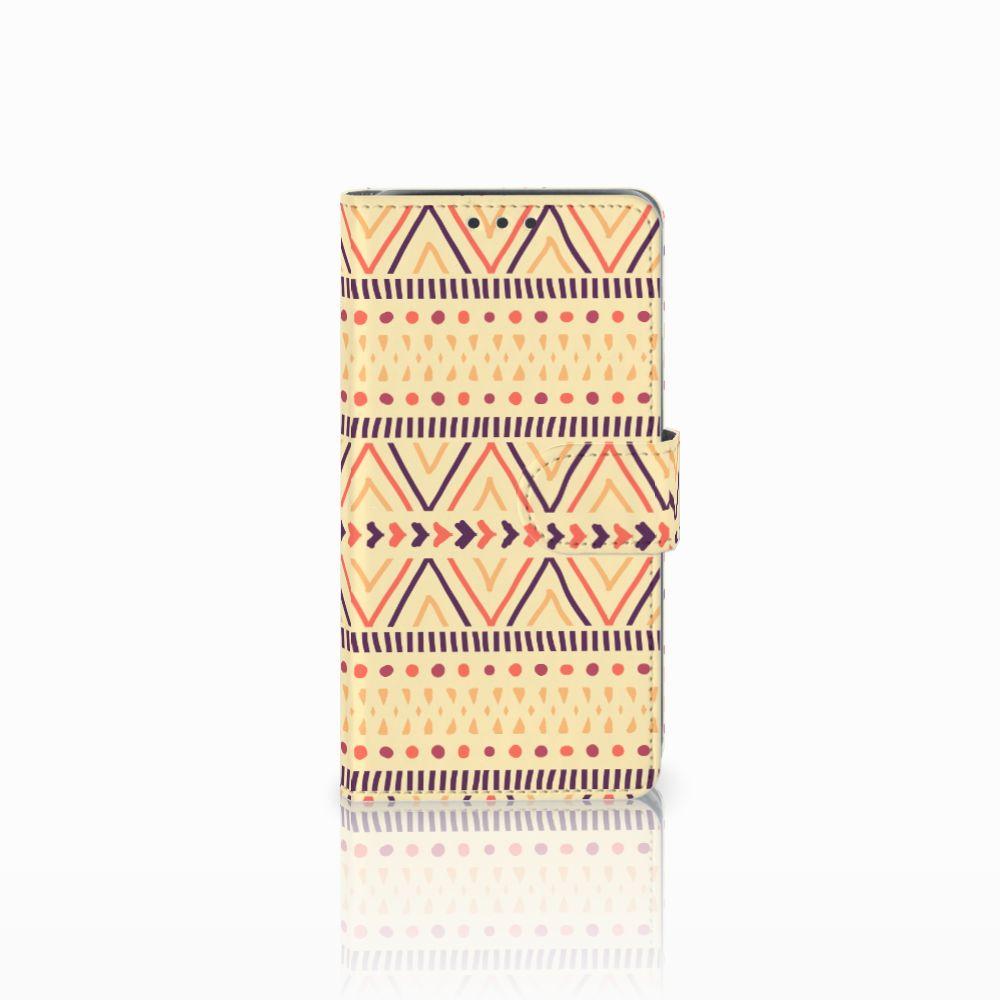 Samsung Galaxy J5 (2015) Telefoon Hoesje Aztec Yellow