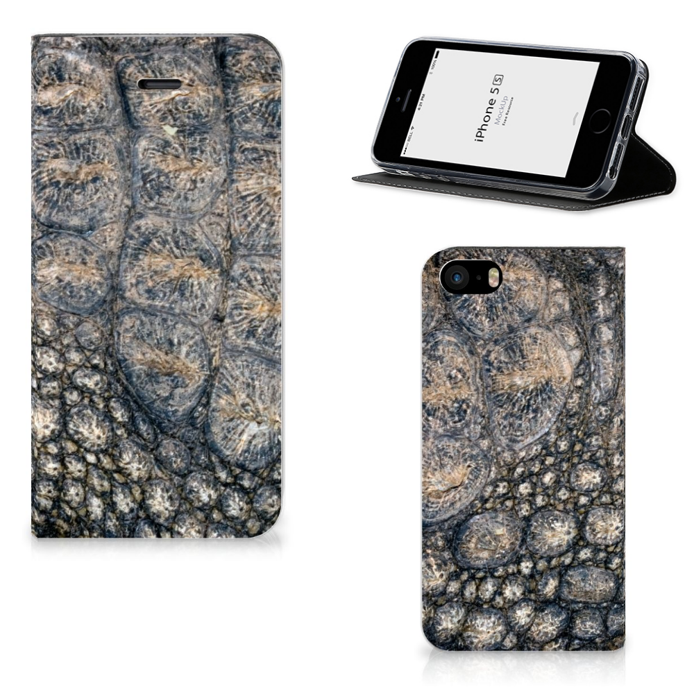 iPhone SE|5S|5 Hoesje maken Krokodillenprint