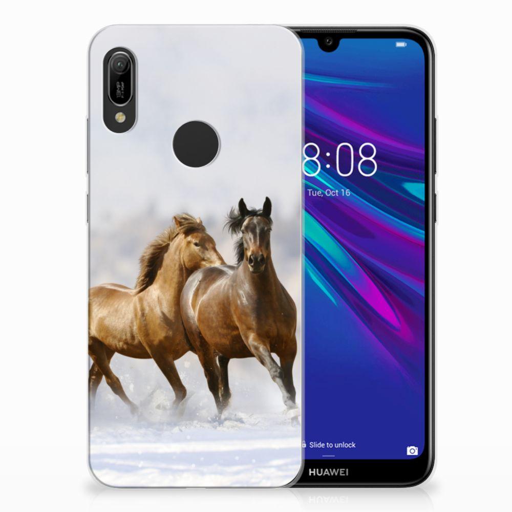 Huawei Y6 2019 | Y6 Pro 2019 Leuk Hoesje Paarden