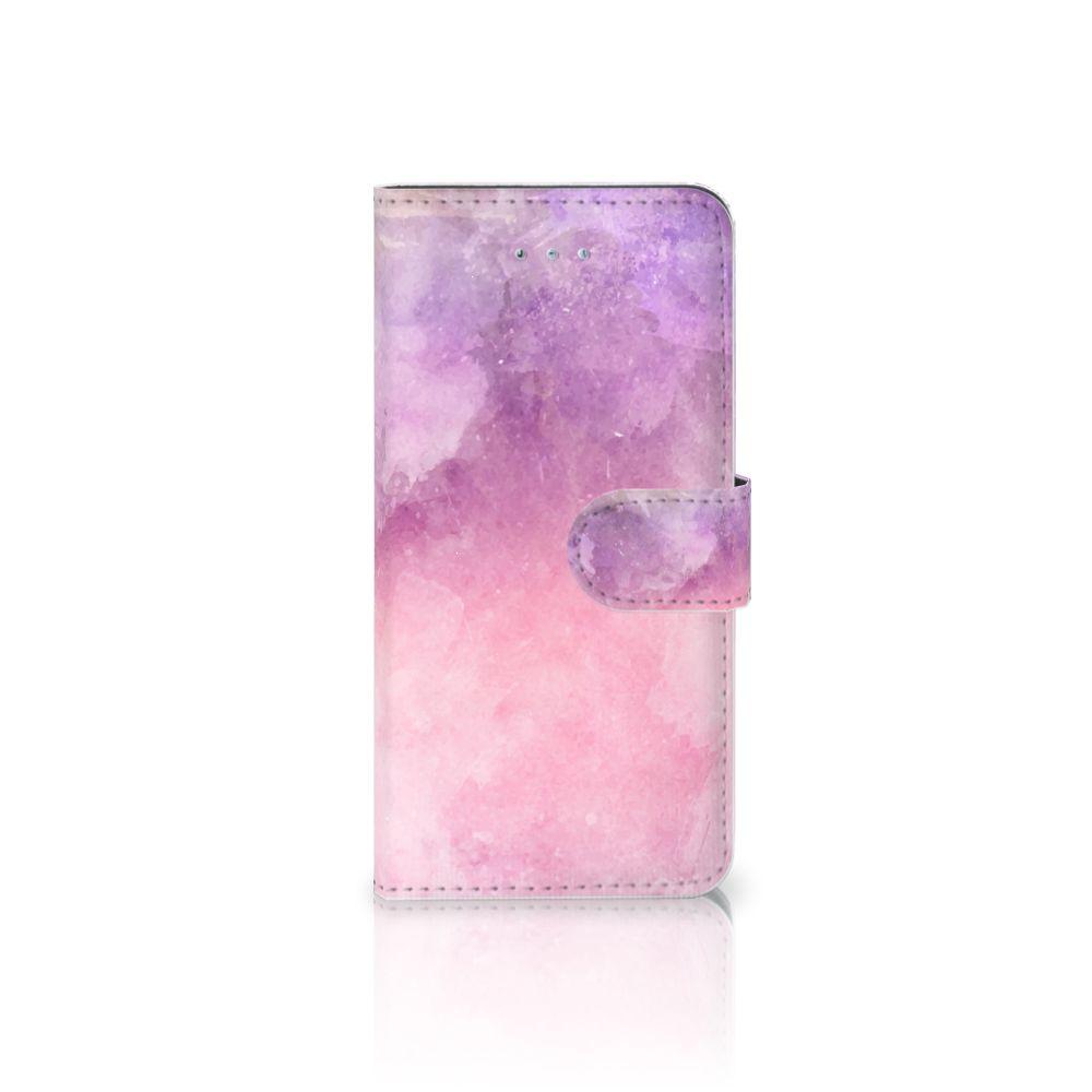 Honor 4A | Y6 Boekhoesje Design Pink Purple Paint