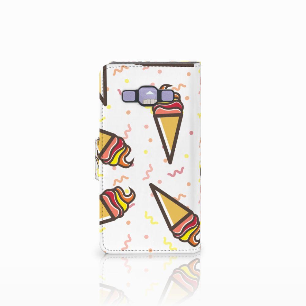 Samsung Galaxy A3 2015 Book Cover Icecream