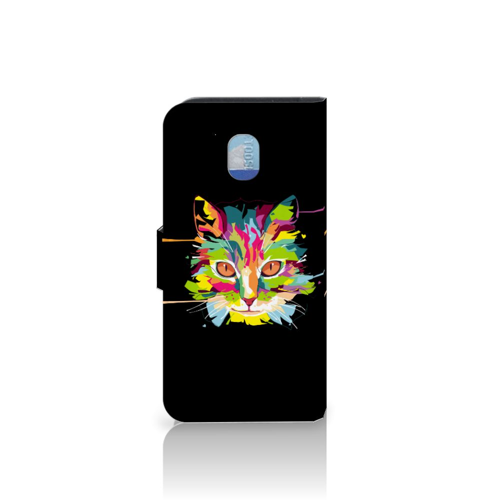 Samsung Galaxy J3 (2018) Leuke Hoesje Cat Color