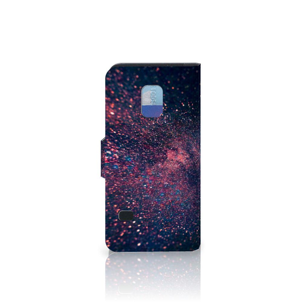 Samsung Galaxy S5 Mini Bookcase Stars