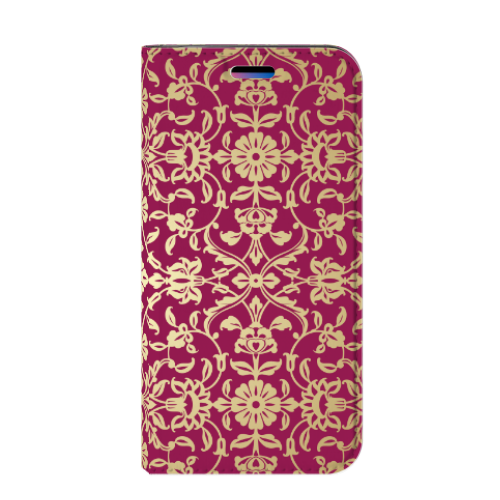 Apple iPhone X | Xs Standcase Hoesje Design Barok Pink