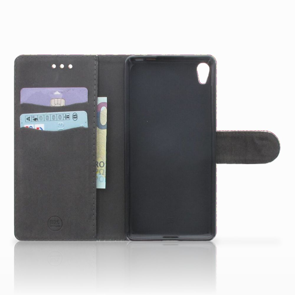 Wallet Case Sony Xperia E5 Barok Pink