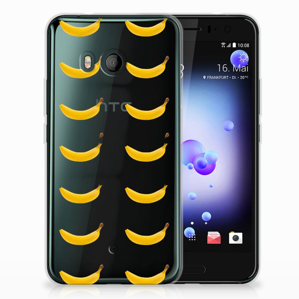 HTC U11 Uniek TPU Hoesje Banana