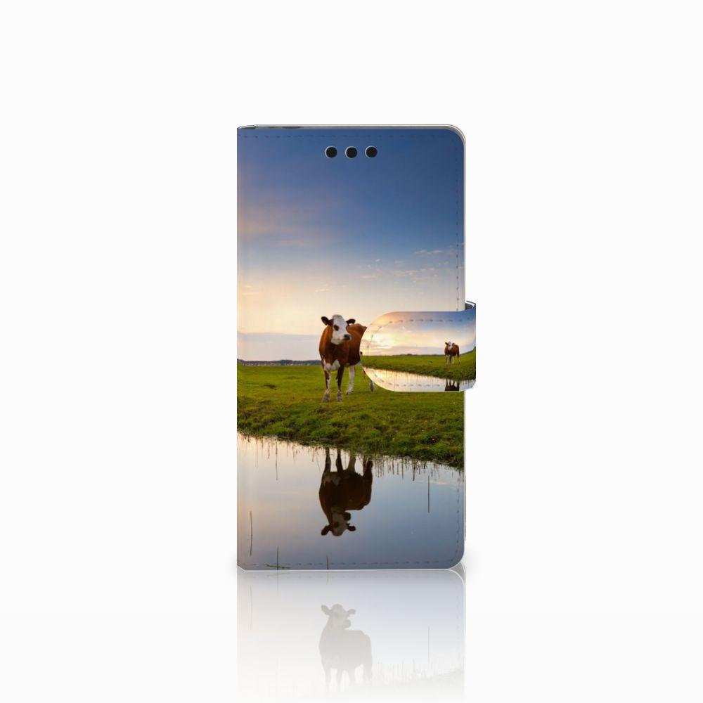 Sony Xperia M4 Aqua Boekhoesje Design Koe
