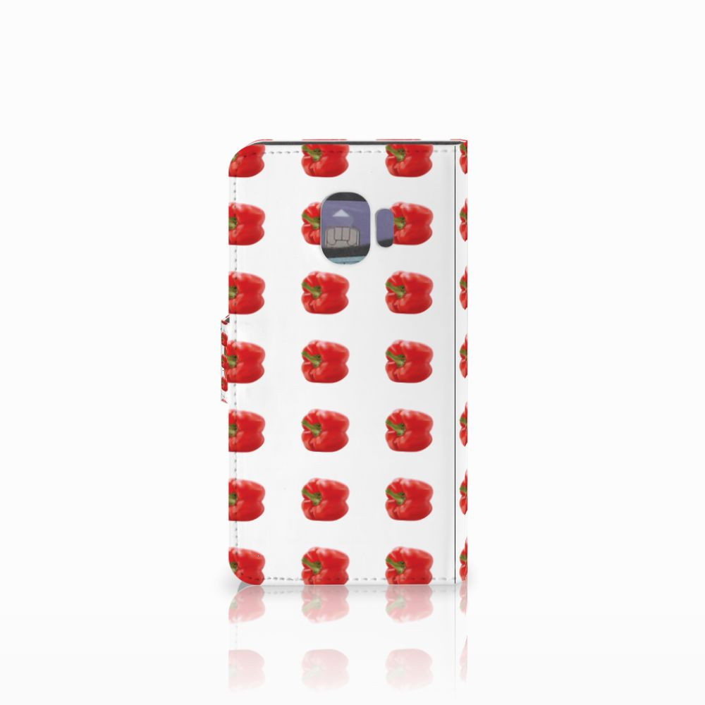 Samsung Galaxy J2 Pro 2018 Book Cover Paprika Red