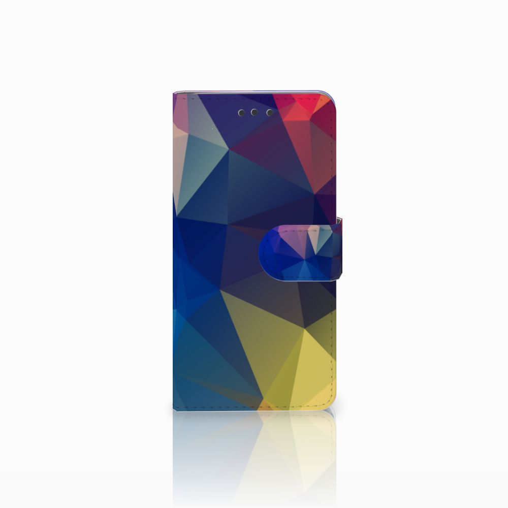 HTC U Play Bookcase Polygon Dark
