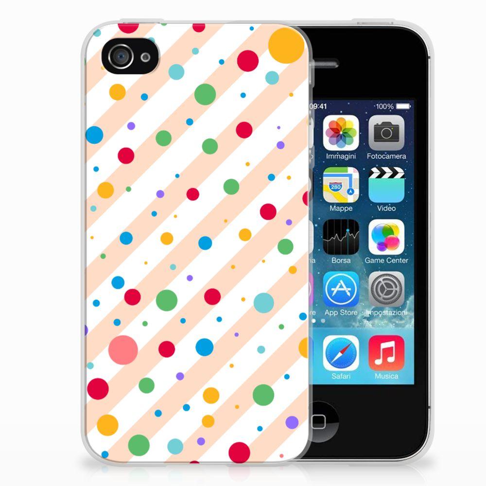 Apple iPhone 4 | 4s TPU bumper Dots