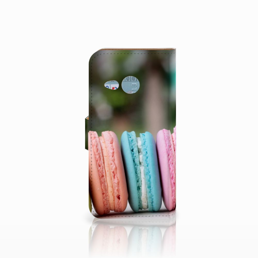 HTC One Mini 2 Book Cover Macarons