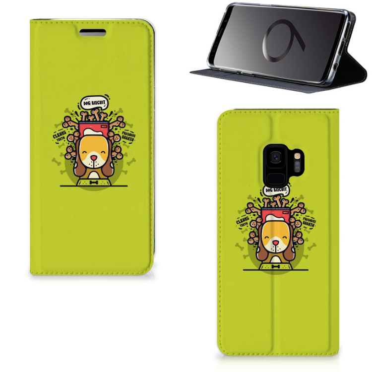 Samsung Galaxy S9 Magnet Case Doggy Biscuit