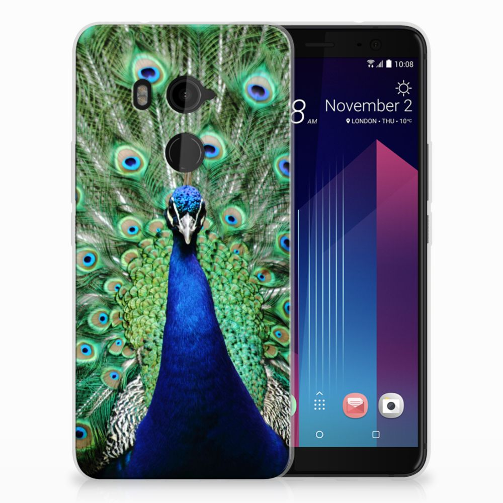 HTC U11 Plus TPU Hoesje Pauw