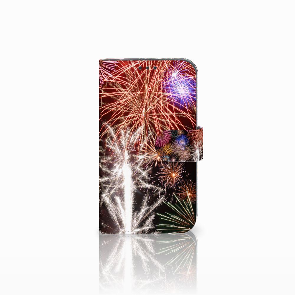 Samsung Galaxy Xcover 4 Boekhoesje Design Vuurwerk