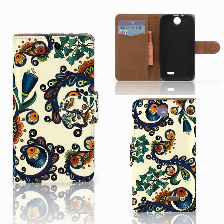 Wallet Case HTC Desire 310 Barok Flower