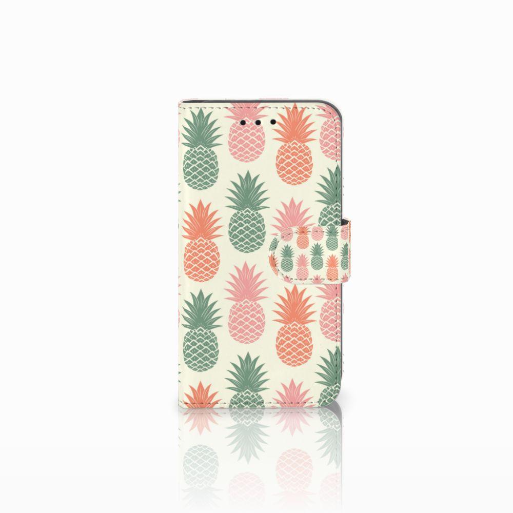Microsoft Lumia 550 Boekhoesje Design Ananas