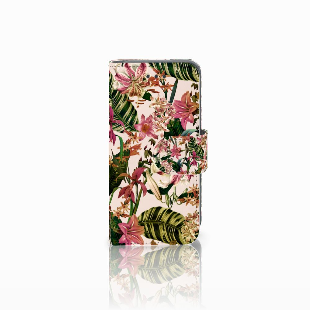 Apple iPod Touch 5 | 6 Uniek Boekhoesje Flowers