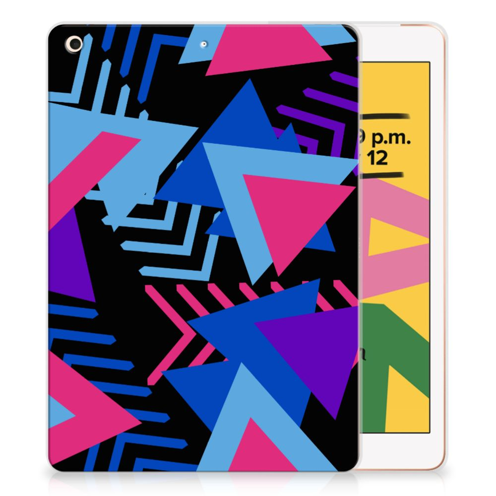 Apple iPad 10.2 (2019) Back Cover Funky Triangle