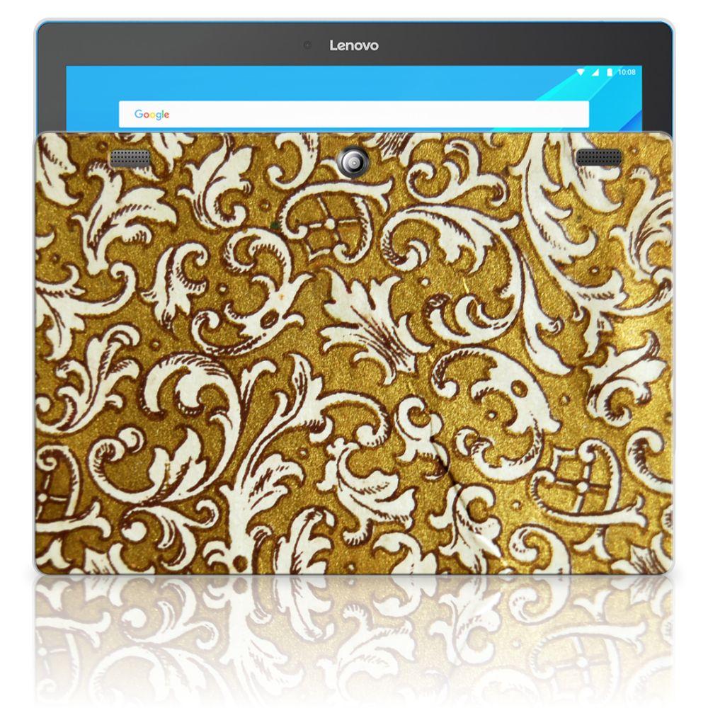 Lenovo Tab 10   Tab 2 A10-30 Tablethoesje Design Barok Goud