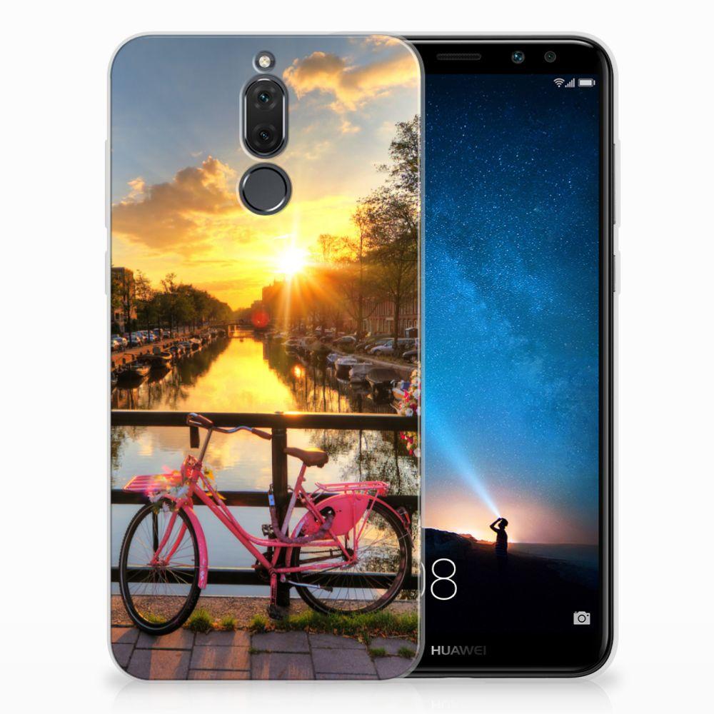 Huawei Mate 10 Lite Uniek TPU Hoesje Amsterdamse Grachten