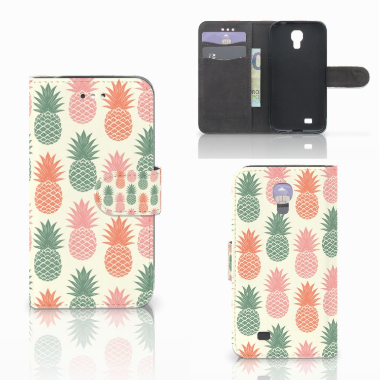 Samsung Galaxy S4 Book Cover Ananas