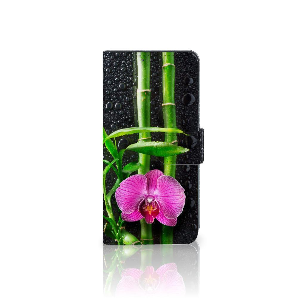 LG V40 Thinq Boekhoesje Design Orchidee