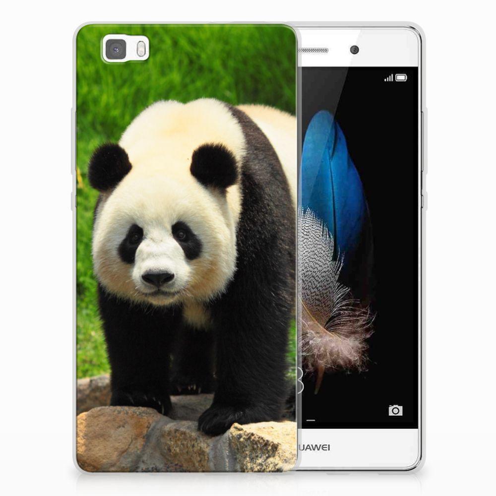 Huawei Ascend P8 Lite TPU Hoesje Panda