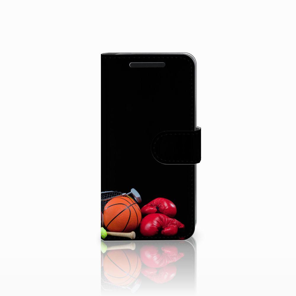 HTC One M9 Wallet Case met Pasjes Sports