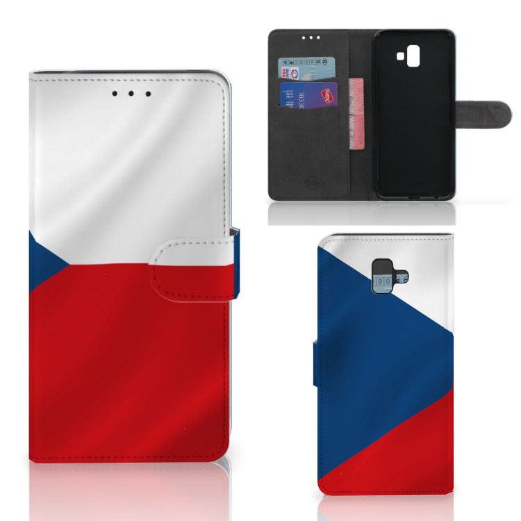 Samsung Galaxy J6 Plus (2018) Bookstyle Case Tsjechië