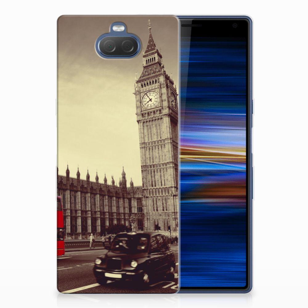 Sony Xperia 10 Plus TPU Hoesje Design Londen